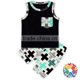 Cheap Price Toddlers Tank Top And Shorts Set Baby Boy Clothes Clothing Sets 2 Pcs Summer baby Clothes Set Clothing