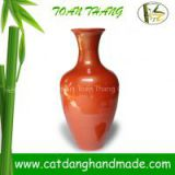 traditional bamboo flower vase(Skype: jendamy, whatsapp/viber: +84 914542499)