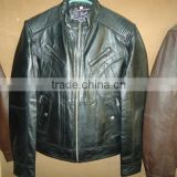 High quality sheep leather jacket for men 2016