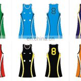 sublimation newest custom netball jersey