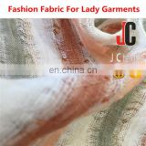 JC-M251647 100% linen suiting fabric 2016 high quality fashion wholesale lining fabriccolor linen fabric for dress and clothing