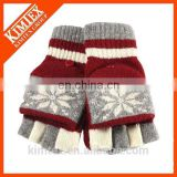 2016 christmas gift snowman gloves