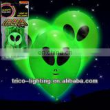 2013 new led flashing balloon for halloween, skeleton Illuminating Balloons