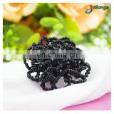 2016 handmade accessories beaded women shirt button decorate