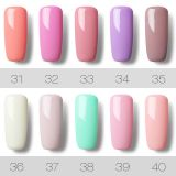 58 Colors Barbie Soak-off UV Nail Gel Polish Long Lasting Nail Art Manicure 7ML