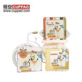 Wholesale absorbent paper OEM paper coasters for drink