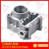 factory lc135 tricycle engine aluminium cylinder spare parts block set
