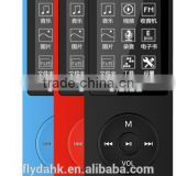 Ultrathin 4gb MP3 Player With voice recorder 1.8 Inch Screen Original RUIZU X02 With FM E-Book Clock Data Mp3 Player.