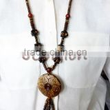 Coconut shell necklace Charming Whloesale