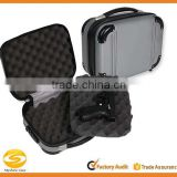 Grey Molded ABS polycarbonate Double Pistol Case,gun travel carrying case