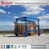 Best sellers in China 30ton electric outdoor double beams containers gantry crane with hook