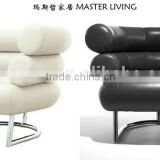 Replica wholesale Leather Eileen Gray synthetic leather/fabric Bibendum Chair for TV room