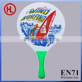 sailboat logo Custom Hot Sale promotion gift TOP QUALITY Wooden Beach Tennis Racket/beach paddle rackets wholesale