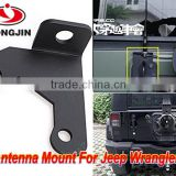 Jeep Spare Tire CB antenna mount For Jeep Wrangler Unlimited Rubicon Sahara JK 2/4 Door 2007-2016