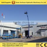 warehouse trailer mounted towable hydraulic cherry picker for sale