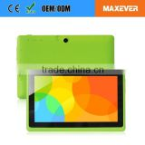 Multi Colors WiFi Touch Screen 7 Inch Android Tablet For Kids                                                                         Quality Choice