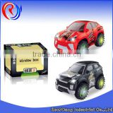 New product car toy plastic b/o electric motor car