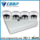 "Low Consumption ONVIF Embeded LINUX OS HI3518 1/4"" progressive scanning CMOS Sensor CCTV Cam NVR KIT"
