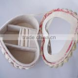 AN391 ANPHY Heart-shaped Noble Conch Shells Decoration Jewelry Gift Box Holder Display Stock 20*9cm