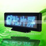 Super bright SMD0805 LED mono blue 3mm pitch desktop led mini screen