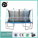 14 big heavy duty moonwalker trampoline bounce mat with child safety net
