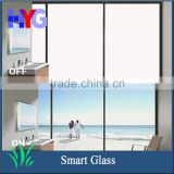 Sound-proof safty strike-resistance protect privacy switchable PDLC smart glass shower door