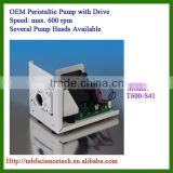 OEM Peristaltic Pump with Drive, Model: T600-S41, Speed: max. 600rpm, Control Mode: BCD dial switch or 0-10kHz pulse signal