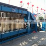 Inside winding device Automatic Wire Netting Galvanised PVC Coated Hexagonal mesh Machine
