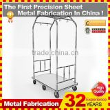 kindle 2014 new durable folding professional customized push shopping cart for sale