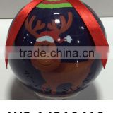2015 New Products From China Christmas Tree Decoration Plastic Baubles Christmas Ball Wholesale