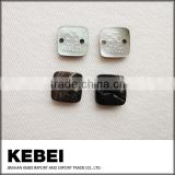 Black and white color bulk shell buttons craft button