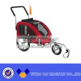 aluminum folding baby bicycle trailer