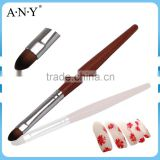 ANY Nail Care Tools Rosewood Handle UV Gel Brush Nail Art Beauty