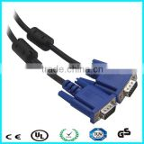 Factory supply good quality vga cable with ferrite bead