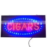 Animated LED CIGARS Sign light neon store Shop Display