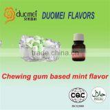 Gum based mint essence flavor for candy or chewing gum