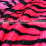hot pink zebra plush