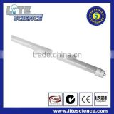 Hot sales the newest design high lumens 24w led light tube, 150cm T8 LED sensor tube,led tube sensor T8