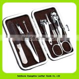 16010 Wholesale Professional 6pcs Manicure Set Manicure Pedicure Set Nail Clippers Scissors Grooming Tool