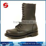 men action leather boot for army