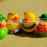 weighted floating rubber ducks wholesale