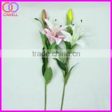 cheap 60cm height 8 colors available flowers artificial tiger lily