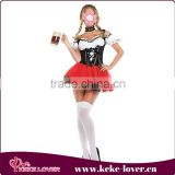Lastest design strapless sexy costumes for women cute sweet girls costumes for party young girls princess costumes wholesale