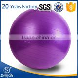 Anti-explosion oval gym ball, logo printing exercise ball wholesale