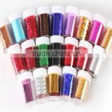Nice many color Nail Art Transfer Foil Sticker for Nail Tips Decoration