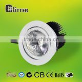 5 years warranty led downlight COB 15W SHARP COB1215 Fire rated High CRI 85: Ra85 SAA,GS,CE,RoHs