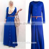OEM service China factory custom made Wholesale custom plus size abaya dress