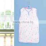 70% bamboo 30% cotton infant baby sleevless sleeping bag for summer
