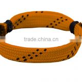 HY Fashion Jewelry handmade Hockey Lace Bracelet wholesale manufacture