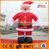 attractive design giant inflatable santa claus ballon